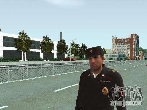 Der Sergeant der KKS in der form der neuen Probe für GTA San Andreas