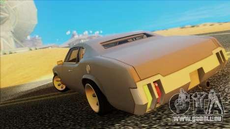 Sabre Race Edition pour GTA San Andreas laissé vue