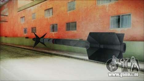 AIM9 Missile für GTA San Andreas zweiten Screenshot