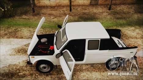 VAZ 2329 Niva 4x4 pour GTA San Andreas vue arrière
