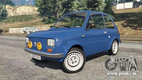 GTA 5 Fiat 126p v1.1 droite vue latérale