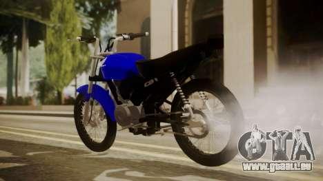 Honda CB1 pour GTA San Andreas laissé vue