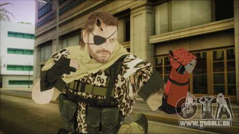 MGSV Phantom Pain Snake Scarf Animals pour GTA San Andreas