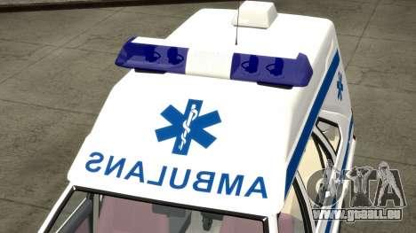 Daewoo-FSO Polonez Cargo Krankenwagen 1999 für GTA 4 obere Ansicht