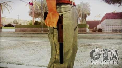 Original Colt 45 Silenced HD pour GTA San Andreas