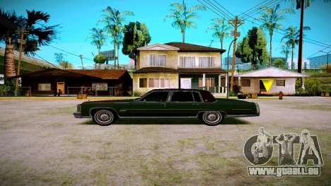 Cadillac Fleetwood Brouhman 1985 pour GTA San Andreas laissé vue