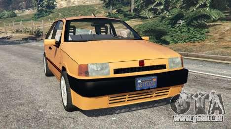 Fiat Tipo pour GTA 5