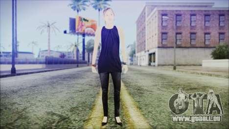 Home Girl Lupita für GTA San Andreas zweiten Screenshot