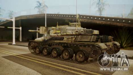 AMX 30 from Mercenaries 2 World in Flames pour GTA San Andreas laissé vue