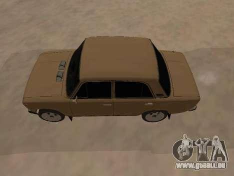 Vaz 2101 V1 pour GTA San Andreas vue de droite