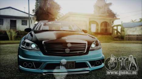 Carlsson Aigner CK65 RS v1 Headlights für GTA San Andreas
