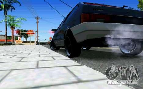 VAZ 2108 V1 pour GTA San Andreas vue de droite