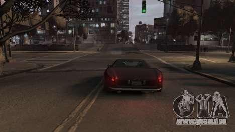 GTA V Stinger Classic für GTA 4 Rückansicht