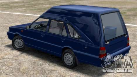 Daewoo-FSO Polonez Cargo Van Plus 1999 pour GTA 4 Vue arrière de la gauche