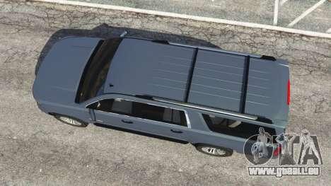 GTA 5 Chevrolet Suburban 2015 [unlocked] vue arrière