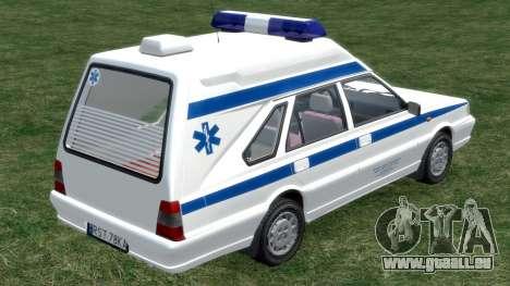 Daewoo-FSO Polonez Cargo Krankenwagen 1999 für GTA 4 rechte Ansicht