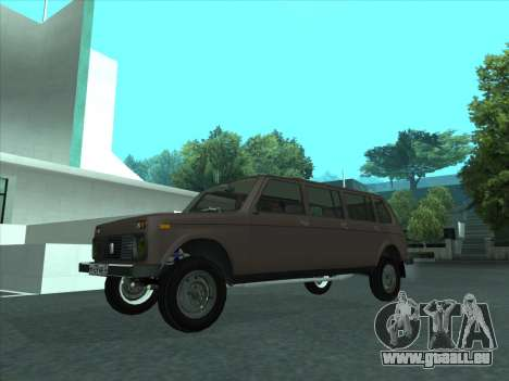 VAZ 2131 samudera ont pour GTA San Andreas vue intérieure