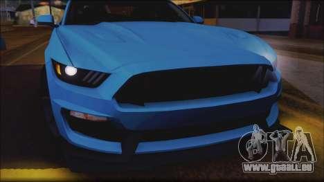 Ford Mustang Shelby GT350R 2016 für GTA San Andreas Räder