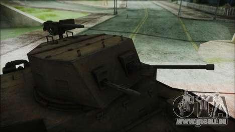 T7 Combat Car für GTA San Andreas rechten Ansicht