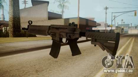 SIG-556 Patrol Rifle White pour GTA San Andreas troisième écran