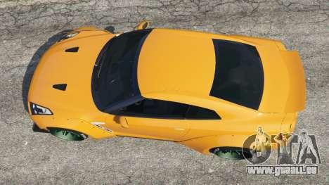 GTA 5 Nissan GT-R (R35) [LibertyWalk] Rückansicht