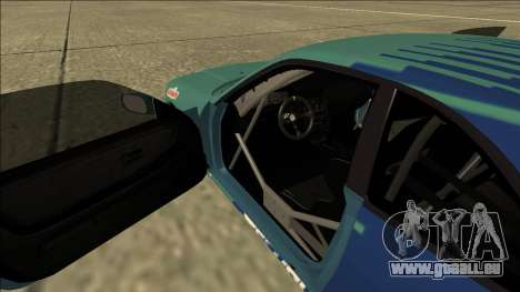 Nissan Skyline R33 Drift Falken pour GTA San Andreas vue intérieure