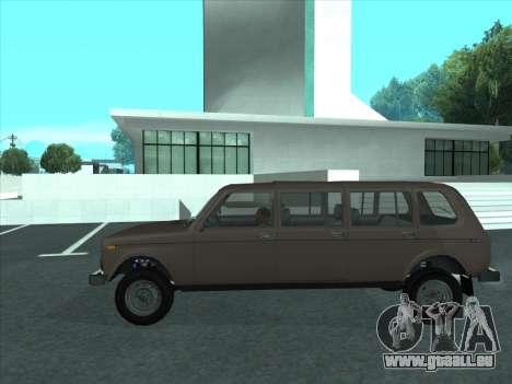 VAZ 2131 samudera ont pour GTA San Andreas laissé vue