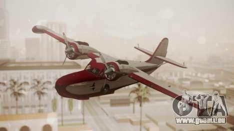 Grumman G-21 Goose N121GL für GTA San Andreas