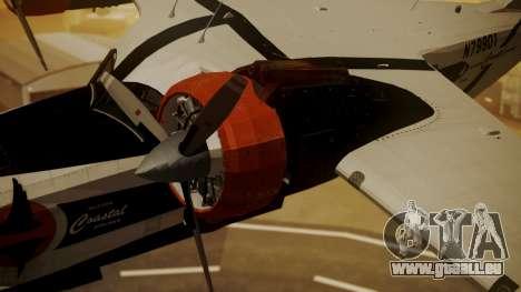 Grumman G-21 Goose N79901 pour GTA San Andreas vue de droite