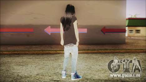 Home Girl SWAG pour GTA San Andreas troisième écran