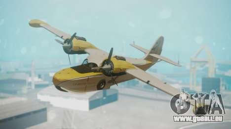 Grumman G-21 Goose WhiteYellow für GTA San Andreas