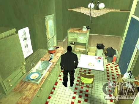 Wohnung von GTA IV für GTA San Andreas