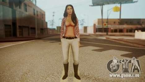 Megan Fox für GTA San Andreas zweiten Screenshot