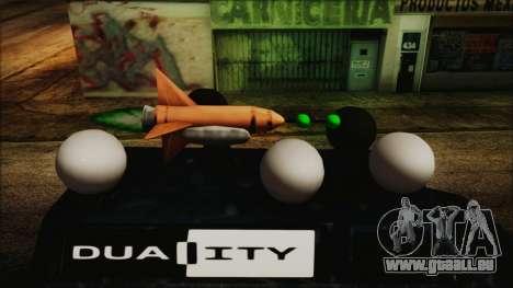 Duality Van - Furgoneta Duality pour GTA San Andreas sur la vue arrière gauche