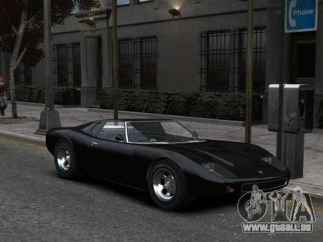 GTA 5 Monore Imporeved pour GTA 4 Vue arrière de la gauche