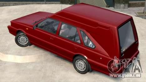 Daewoo-FSO Polonez Cargo Van Plus 1999 pour GTA 4 est une gauche
