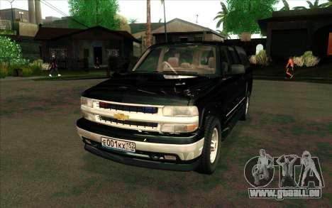 Chevrolet Suburban de FSB pour GTA San Andreas