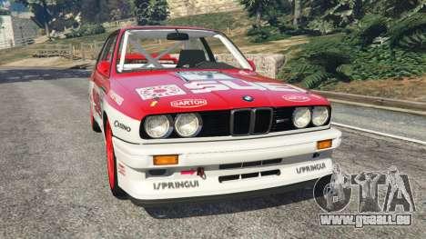 BMW M3 (E30) 1991 [Suei] v1.2 pour GTA 5