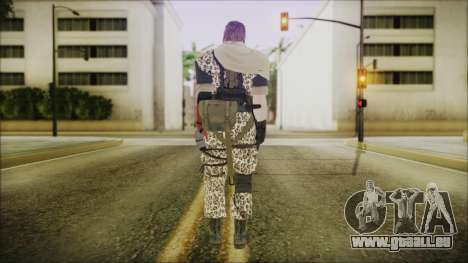 MGSV Phantom Pain Snake Scarf Animals für GTA San Andreas dritten Screenshot