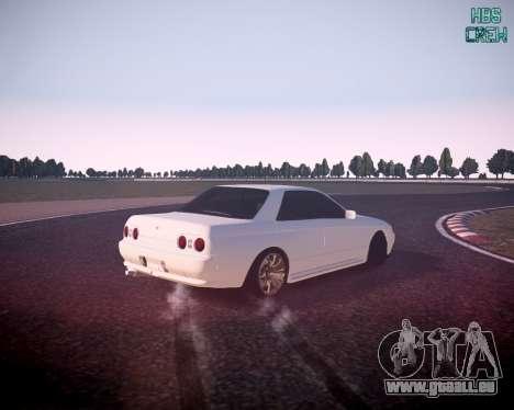 Nissan Skyline ER32 pour GTA 4 est une gauche