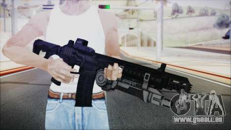SOWSAR-17 Type G Assault Rifle with Grenade für GTA San Andreas dritten Screenshot