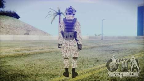Bundeswehr Desert v2 pour GTA San Andreas troisième écran