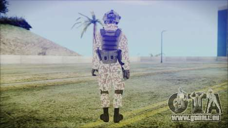 Bundeswehr Desert v2 für GTA San Andreas dritten Screenshot
