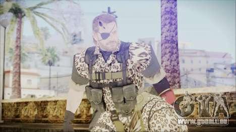 MGSV Phantom Pain Snake Normal Wetwork pour GTA San Andreas