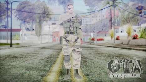 MGSV Phantom Pain Snake Scarf Tiger für GTA San Andreas zweiten Screenshot