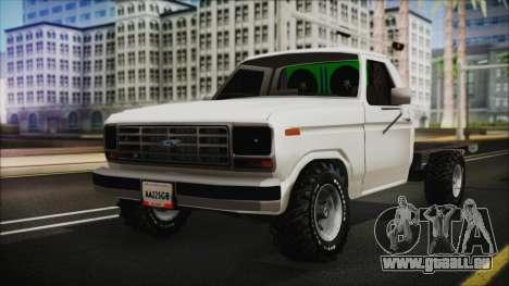 Ford F-150 Con Sonido für GTA San Andreas