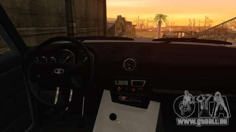 Bully VAZ 2106 Azeri Style pour GTA San Andreas vue de droite
