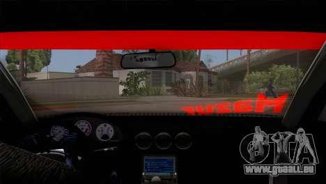 Nissan S15 Drift pour GTA San Andreas vue intérieure