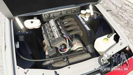 GTA 5 BMW M3 (E30) 1991 [Wild Autonio] v1.2 arrière droit vue de côté