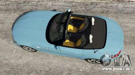 GTA 5 BMW Z4 sDrive28i 2012 Rückansicht